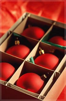 Фото: Красные шары / Новый год - любимый праздник.