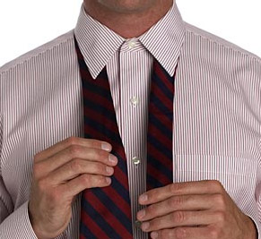Завязываем галстук